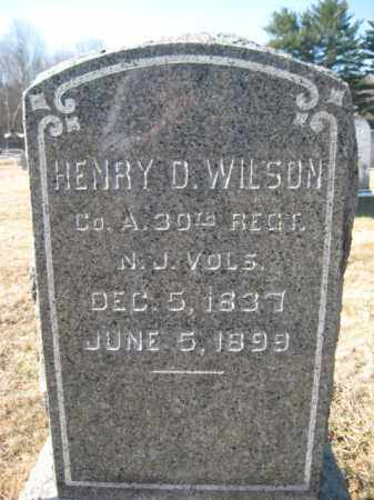 WILSON, HENRY D. - Somerset County, New Jersey | HENRY D. WILSON - New Jersey Gravestone Photos
