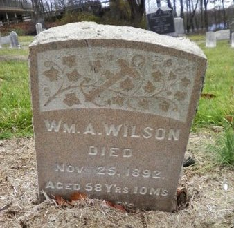 WILSON, WILLIAM A. - Somerset County, New Jersey | WILLIAM A. WILSON - New Jersey Gravestone Photos