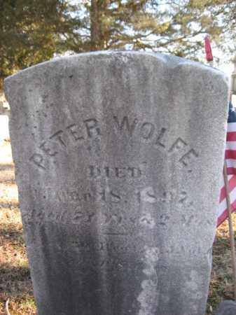 WOLFE, CORP PETER - Somerset County, New Jersey | CORP PETER WOLFE - New Jersey Gravestone Photos
