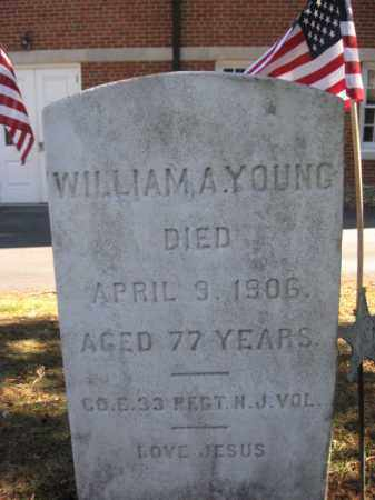 YOUNG, WILLIAM A. - Somerset County, New Jersey | WILLIAM A. YOUNG - New Jersey Gravestone Photos