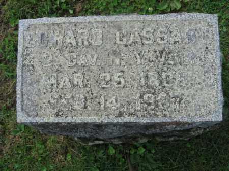 CASSADY, EDWARD - Sussex County, New Jersey | EDWARD CASSADY - New Jersey Gravestone Photos