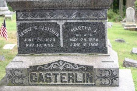 CASTERLIN (CASTERLINE), GEORGE C. - Sussex County, New Jersey | GEORGE C. CASTERLIN (CASTERLINE) - New Jersey Gravestone Photos