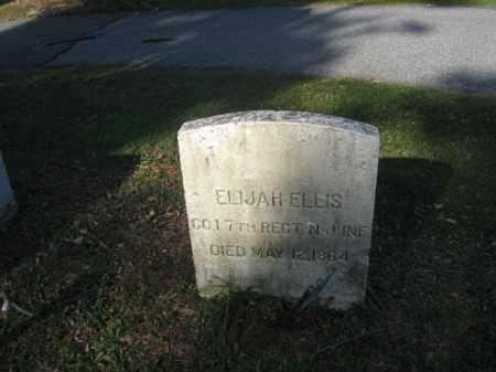ELLIS, ELIJAH - Sussex County, New Jersey | ELIJAH ELLIS - New Jersey Gravestone Photos