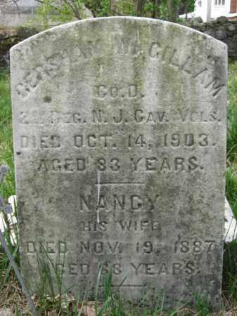 GILLAM, GERSHAM W. - Sussex County, New Jersey   GERSHAM W. GILLAM - New Jersey Gravestone Photos