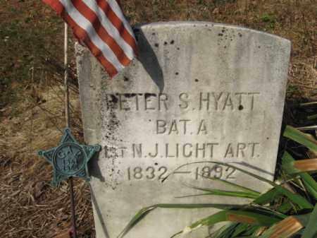 HYATT, PETER S. - Sussex County, New Jersey | PETER S. HYATT - New Jersey Gravestone Photos