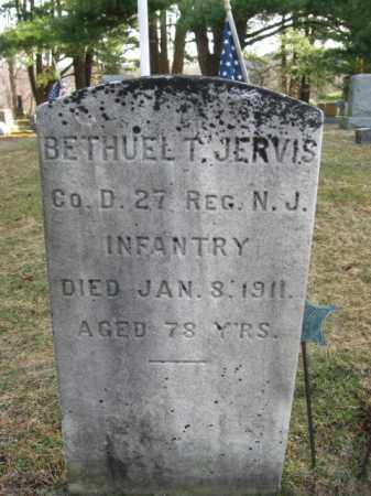 JERVIS (JARVIS), BETHUEL T. - Sussex County, New Jersey | BETHUEL T. JERVIS (JARVIS) - New Jersey Gravestone Photos