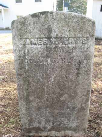 JERVIS (JARVIS), JAMES N. - Sussex County, New Jersey   JAMES N. JERVIS (JARVIS) - New Jersey Gravestone Photos