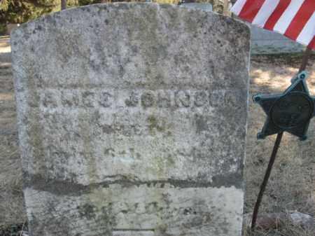 JOHNSON, JAMES - Sussex County, New Jersey | JAMES JOHNSON - New Jersey Gravestone Photos
