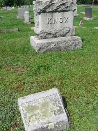 KNOX, BENJAMIN E. - Sussex County, New Jersey   BENJAMIN E. KNOX - New Jersey Gravestone Photos