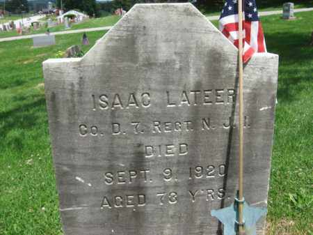 LATEER, ISAAC - Sussex County, New Jersey | ISAAC LATEER - New Jersey Gravestone Photos