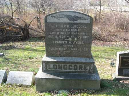 LONGCORE (LONGCOR), FLETCHER B. - Sussex County, New Jersey | FLETCHER B. LONGCORE (LONGCOR) - New Jersey Gravestone Photos