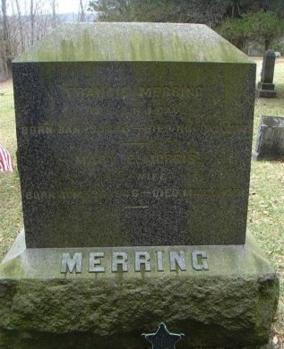 MERRING, FRANCIS - Sussex County, New Jersey | FRANCIS MERRING - New Jersey Gravestone Photos