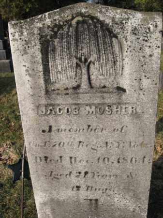 MOSHER, JACOB - Sussex County, New Jersey | JACOB MOSHER - New Jersey Gravestone Photos