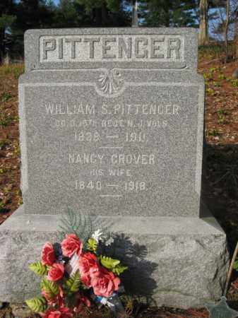 PITTENGER, WILLIAM S. - Sussex County, New Jersey | WILLIAM S. PITTENGER - New Jersey Gravestone Photos