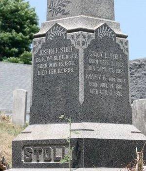 STOLL, JOSEPH E. - Sussex County, New Jersey | JOSEPH E. STOLL - New Jersey Gravestone Photos