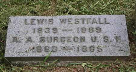 WESTFALL, LEWIS (LOUIS) - Sussex County, New Jersey | LEWIS (LOUIS) WESTFALL - New Jersey Gravestone Photos