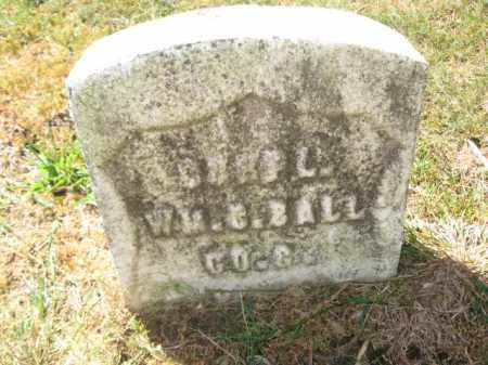 BALL, CORP.WILLIAM C. - Union County, New Jersey | CORP.WILLIAM C. BALL - New Jersey Gravestone Photos