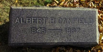 CANFIELD, ALBERT B. - Union County, New Jersey   ALBERT B. CANFIELD - New Jersey Gravestone Photos