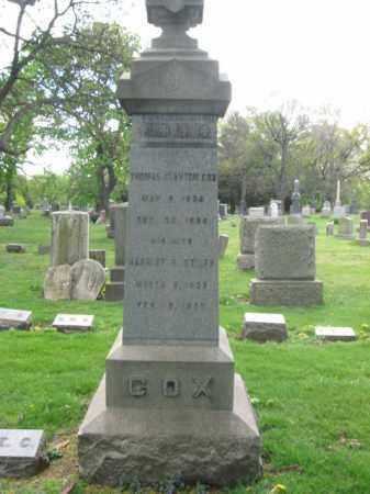 COX, THOMAS C. - Union County, New Jersey | THOMAS C. COX - New Jersey Gravestone Photos