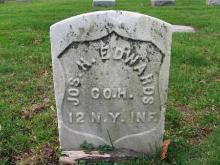 EDWARDS, JOSEPH H. - Union County, New Jersey   JOSEPH H. EDWARDS - New Jersey Gravestone Photos