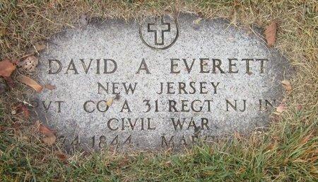EVERETT, DAVID A. - Union County, New Jersey | DAVID A. EVERETT - New Jersey Gravestone Photos