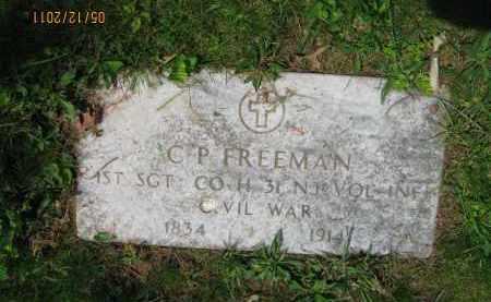 FREEMAN, CHARLES P. - Union County, New Jersey | CHARLES P. FREEMAN - New Jersey Gravestone Photos