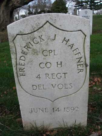 HAFFNER, CORP.FREDERICK J. - Union County, New Jersey | CORP.FREDERICK J. HAFFNER - New Jersey Gravestone Photos