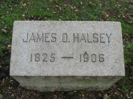 HALSEY, JAMES O. - Union County, New Jersey   JAMES O. HALSEY - New Jersey Gravestone Photos
