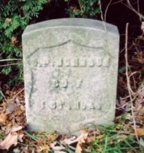JOHNSON, CHARLES P. - Union County, New Jersey   CHARLES P. JOHNSON - New Jersey Gravestone Photos