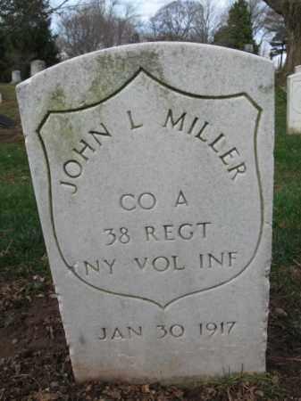MILLER, JOHN L. - Union County, New Jersey   JOHN L. MILLER - New Jersey Gravestone Photos