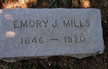 MILLS, EMORY J. - Union County, New Jersey | EMORY J. MILLS - New Jersey Gravestone Photos