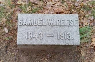 REESE, SAMUEL WIDDOWS - Union County, New Jersey   SAMUEL WIDDOWS REESE - New Jersey Gravestone Photos