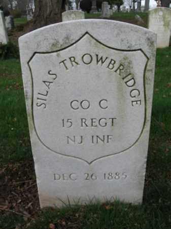 TROWBRIDGE, SILAS - Union County, New Jersey | SILAS TROWBRIDGE - New Jersey Gravestone Photos
