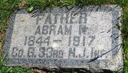 WADE, ABRAM N. - Union County, New Jersey | ABRAM N. WADE - New Jersey Gravestone Photos