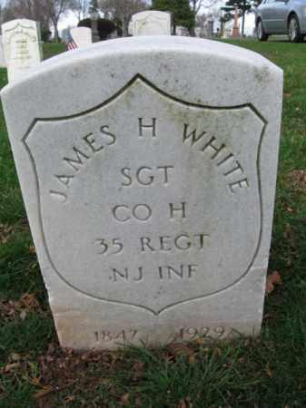 WHITE, JAMES H. - Union County, New Jersey   JAMES H. WHITE - New Jersey Gravestone Photos