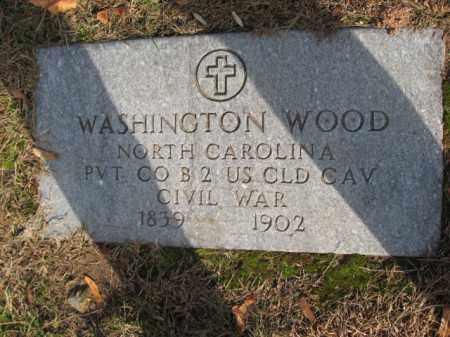 WOOD, WASHINGTON - Union County, New Jersey | WASHINGTON WOOD - New Jersey Gravestone Photos