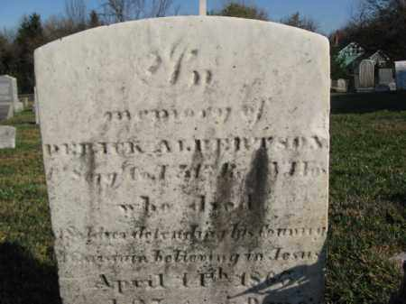ALBERTSON, SGT.DERRICK - Warren County, New Jersey | SGT.DERRICK ALBERTSON - New Jersey Gravestone Photos