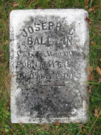 BALDWIN, JOSEPH C. - Warren County, New Jersey | JOSEPH C. BALDWIN - New Jersey Gravestone Photos