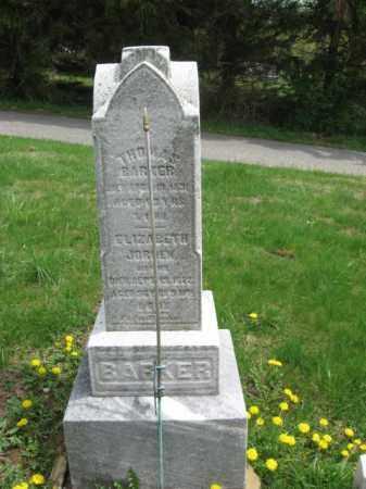 BARKER, THOMAS M. - Warren County, New Jersey | THOMAS M. BARKER - New Jersey Gravestone Photos