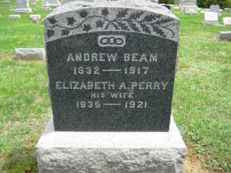 BEAM, ANDREW - Warren County, New Jersey   ANDREW BEAM - New Jersey Gravestone Photos