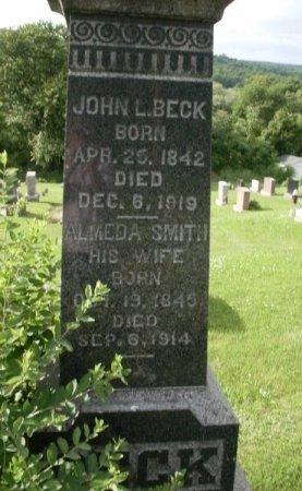 BECK, JOHN L. - Warren County, New Jersey   JOHN L. BECK - New Jersey Gravestone Photos
