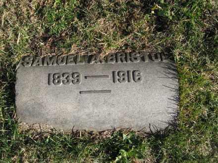BRISTOL, 1ST LT.SAMUEL A. - Warren County, New Jersey | 1ST LT.SAMUEL A. BRISTOL - New Jersey Gravestone Photos