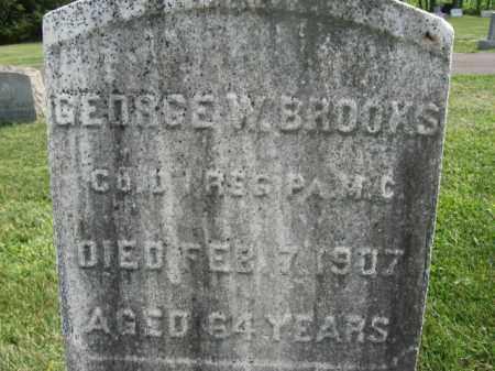BROOKS, GEORGE W. - Warren County, New Jersey | GEORGE W. BROOKS - New Jersey Gravestone Photos