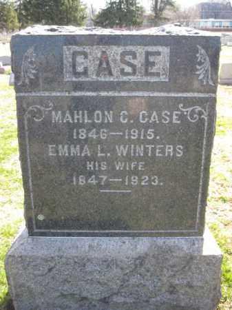 CASE, MAHLON C. - Warren County, New Jersey | MAHLON C. CASE - New Jersey Gravestone Photos