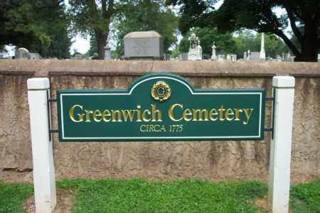 CEMETERY SIGN, GREENWICH - Warren County, New Jersey | GREENWICH CEMETERY SIGN - New Jersey Gravestone Photos