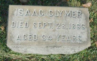 CLYMER, ISAAC - Warren County, New Jersey | ISAAC CLYMER - New Jersey Gravestone Photos