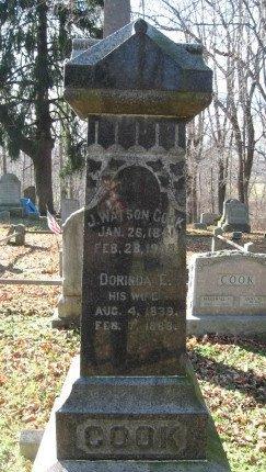 COOK, JOHN WATSON - Warren County, New Jersey | JOHN WATSON COOK - New Jersey Gravestone Photos