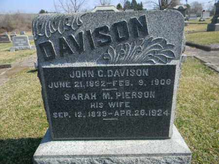 DAVISON, JOHN C. - Warren County, New Jersey | JOHN C. DAVISON - New Jersey Gravestone Photos