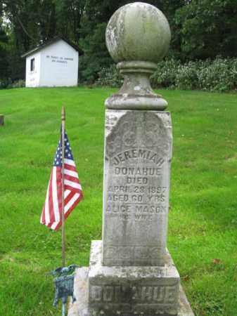 DONAHUE, JEREMIAH - Warren County, New Jersey   JEREMIAH DONAHUE - New Jersey Gravestone Photos