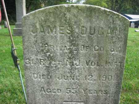 DUGAN, PVT.JAMES - Warren County, New Jersey | PVT.JAMES DUGAN - New Jersey Gravestone Photos